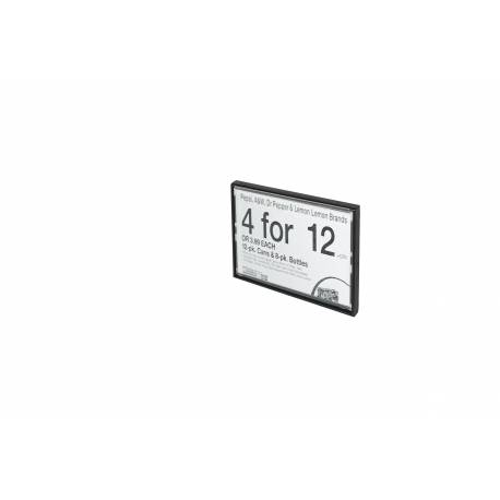 Portaprecios casette para 1 etiqueta, etiqueta NO incluida