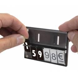 Etiquetas para Portaprecios casette