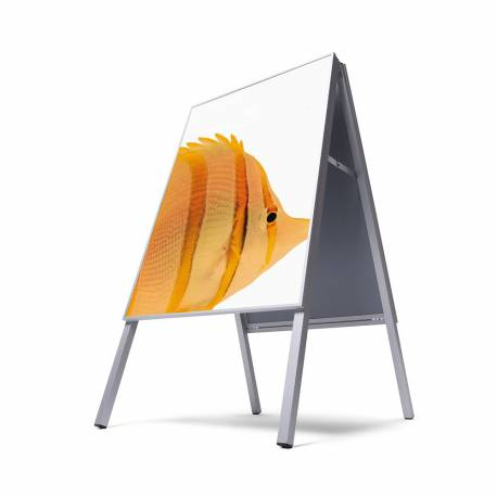 Caballete de exterior para cartel de 70x100 cm