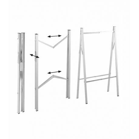 Caballete de Aluminio plegable