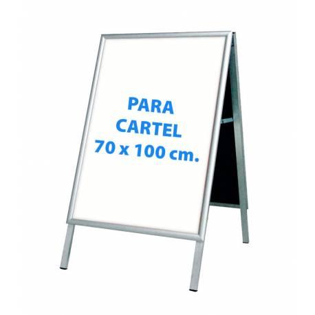 Caballete para cartel de 70x100 cm