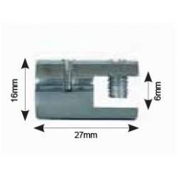 Pinza Sencilla Vertical para Cable Kit