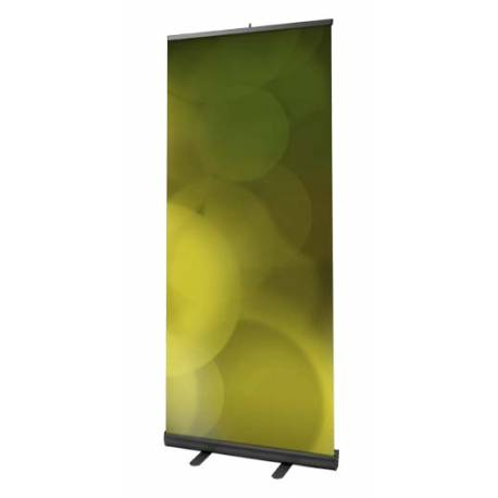 Roll Up 100 x 206 aluminio Negro ALTEA