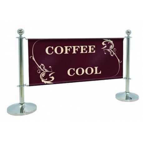 Banner Cafe montado