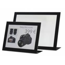 Portafotos horizontal con paspartú