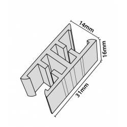 Clip para unión de marcos