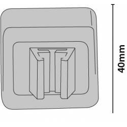 Clip con imán para marcos