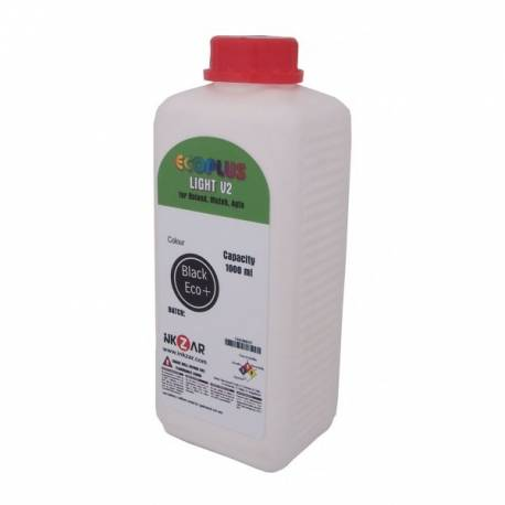 Tinta Ecosolvente CLÓNICA 100% compatible botella 1 litro