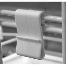 Gancho Clip para paneles de rejilla