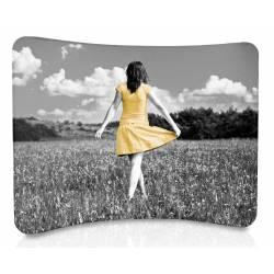 Display para textil curvo 307x230 cm