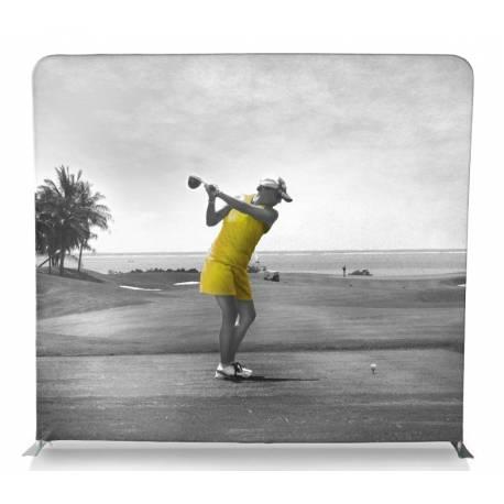 Display para textil recto 247x221 cm