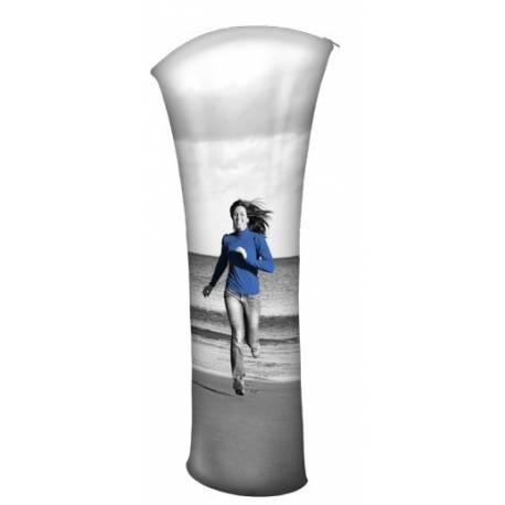 Totem para textil tamaño 200 x 85 cm modelo Arona