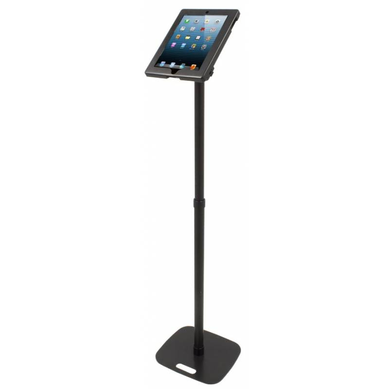 Soporte atril para ipad o tablet con cerradura y pata - Atril para tablet ...
