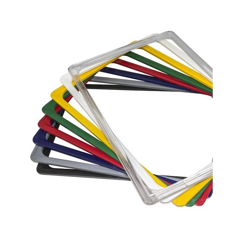 Marco fabricado en ABS de alta calidad para carteles o precios.