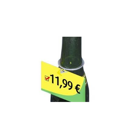 Portaprecios para botella