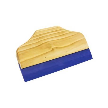 Espátula para vinilo con mango de madera