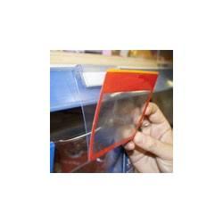 Gripper visagra adhesivo