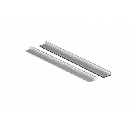 Rail adhesivo para divisor de estantería