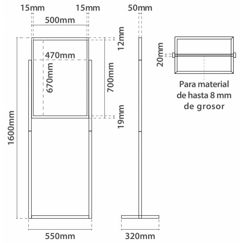Lujo Tamaños De Marco Estándar Del Cartel Fotos - Ideas ...