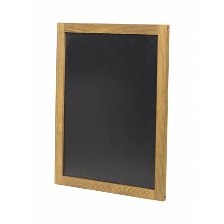 Pizarra para colgar de 47 x 60 cm cm para usar en horizontal o vertical.