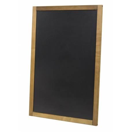 Pizarra para colgar de 60 x 87 cm para usar en horizontal o vertical.