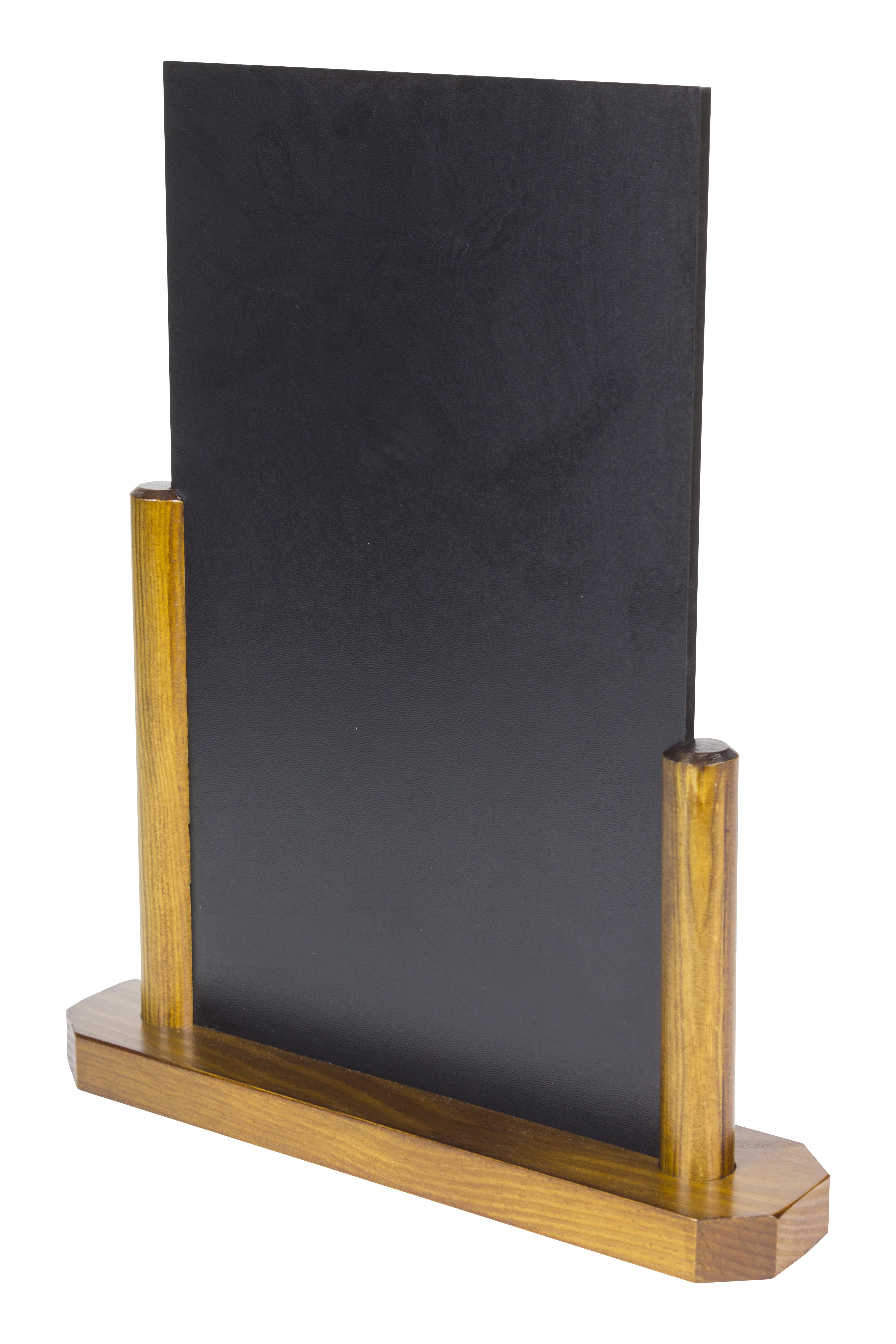 Pizarras de madera para sobremesa - DEPAPEL