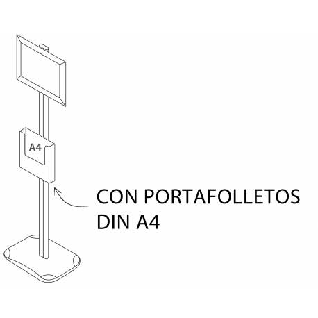 Portagráficas CON CAJETIN PARA FOLLETOS
