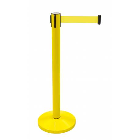 Poste de extensible amarillo
