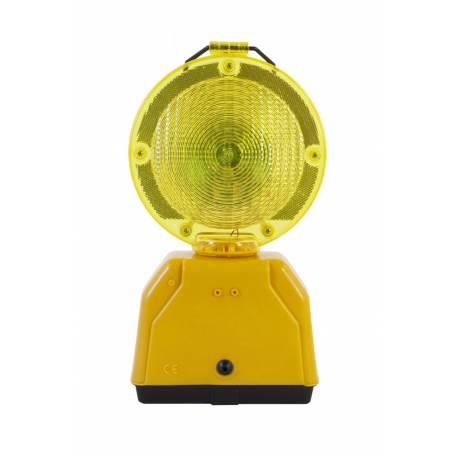Señal luminosa amarilla