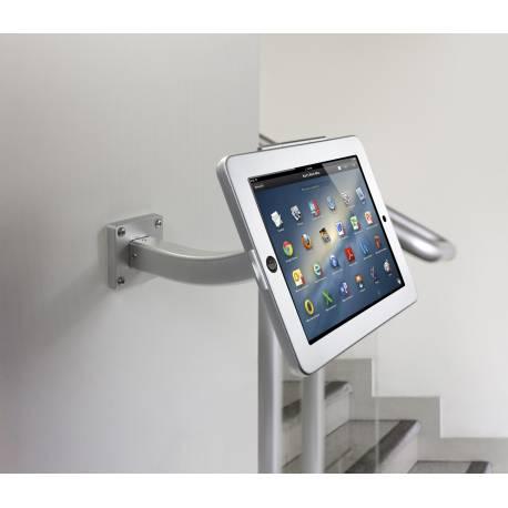 Soporte de pared para tablet con cerradura for Soporte tablet pared