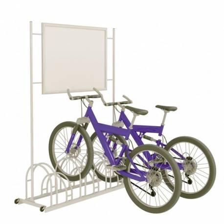 Parking para bicicletas con marco
