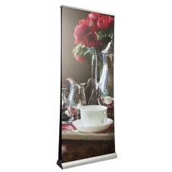 ROLL UP 85 x 206 cm. DOBLE CARA MORA