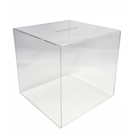 Urna de metacrilato 30x30x30 cm
