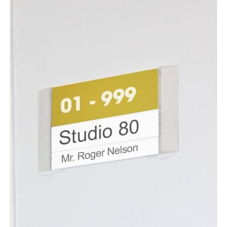 Placa para directorio Vicenza ejemplo de uso