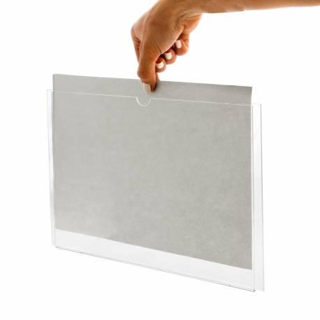 Carpeta para DIN A4 horizontal forma de empleo