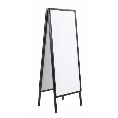 Caballete de Aluminio negro 60 x 150 cm