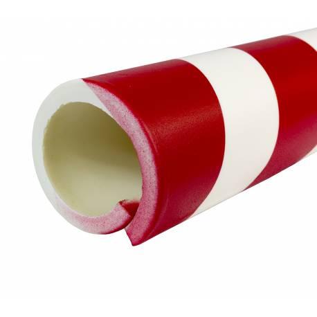 PROTECTOR DE POLIURETANO DE 65 mm de diámetro 1 metro de largo y 10 mm de espesor